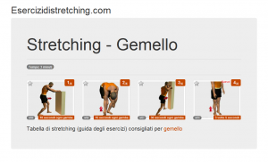 Immagine stretching: Gemello